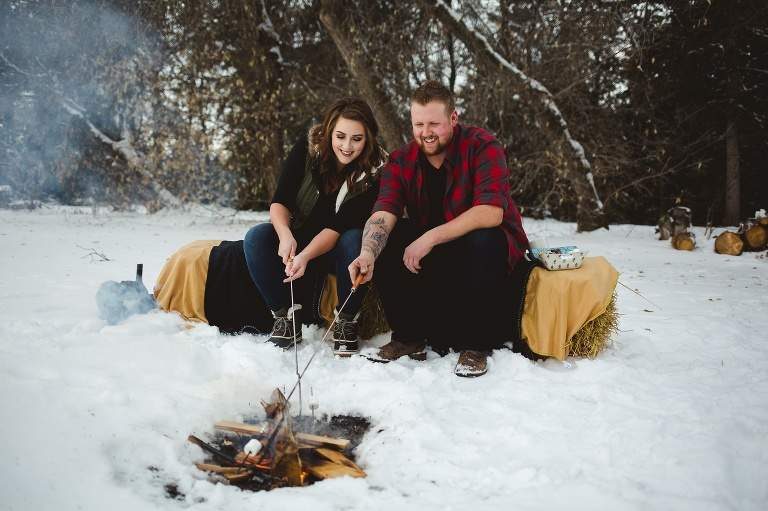 Amara Dirks Photo - Westlock Engagement Photographer