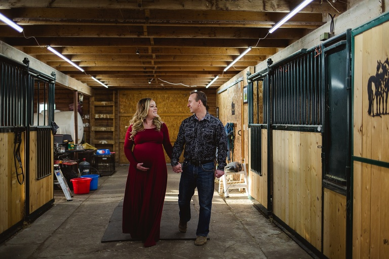 Amara Dirks Photo - Ft. Sask Maternity Photographer